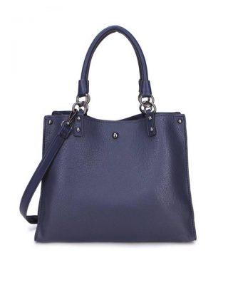 Handtas Classic blauw blauwe musthave dames tassen werk tassen office bags itbags giuliano online bestellen goedkope schoudertas