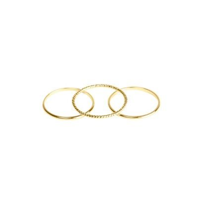 Ring The Three Musketeers goud gouden dunne dames ringen maat 16 online sieraden fashion musthaves rings online