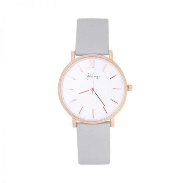Horloge Time flies grijs grijze band rose kast musthave dames horloges fashion horloges rvs roestvrij staal online bestellen watches