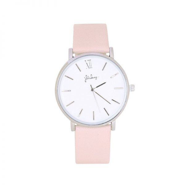 Horloge Time flies roze pink band zilveren kast musthave dames horloges fashion horloges rvs roestvrij staal online bestellen watches