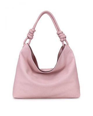 Handtas Spiral roze pink kunstleder tassen dames tas itbags look a like bags musthave dames tassen goedkope guiliano online