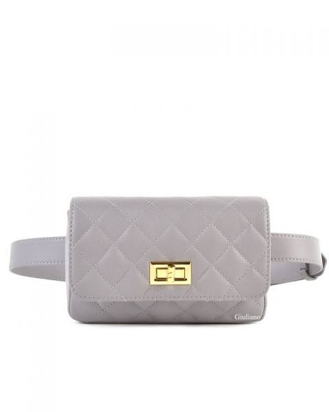 Leren-heuptas-Coco-taupe beige verstelbaar-leer-fannypack-fanny-pack-heuptas-beltbag-marmont-dames-leder-look-a-like-fashion-online-bestellen