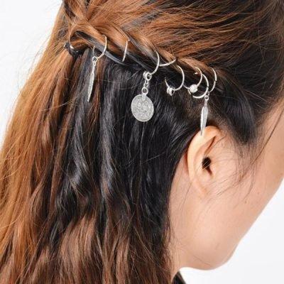 haarringen haar bedels haar ringen sieraden haar hair yewelry kruis ster star cross silver zilverhaarringen haar bedels haar ringen sieraden haar hair yewelry kruis ster star cross silver zilver
