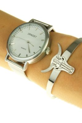 Horloge-THALIX--zilver-zilveren-ernest-horloges-online-kopen-musthave-fashion-items armbanden bull