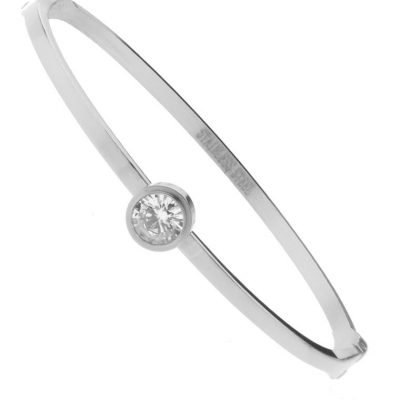RvS Armband stone zilver zilveren stenen steentjes musthave roestvrije stalen armbanden met steen diamand online kopen