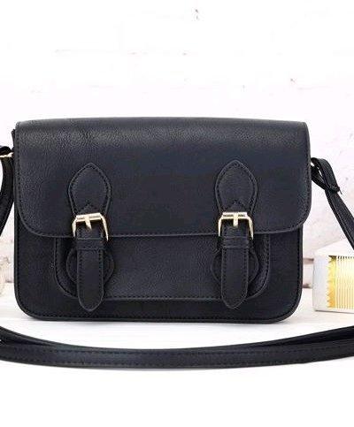 Tasje Karima zwart zwarte hippe tas schouder tas hengsel turquoise tassen online kopen musthave accessoires bags online kopen