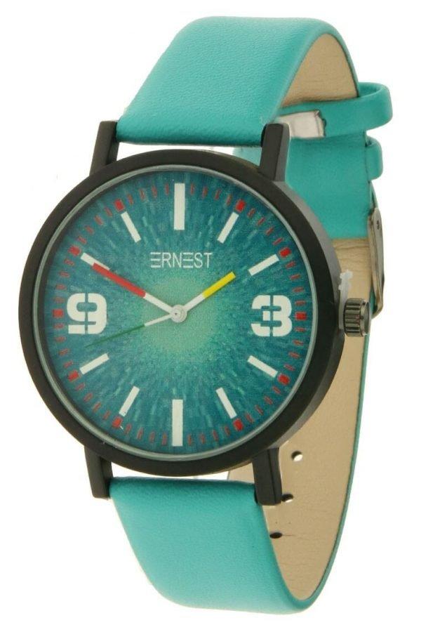 Horloge Plantik turquoise mint musthave ernest horloges online goedkope klokjes dames horloges kopen online