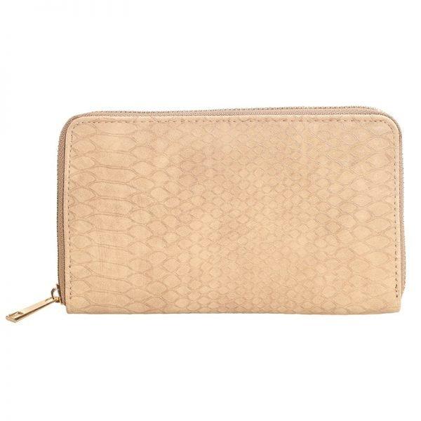 Portemonnee Croco beige dames pasjes portemonee slangenprint online bestellen kopen musthave accessoires