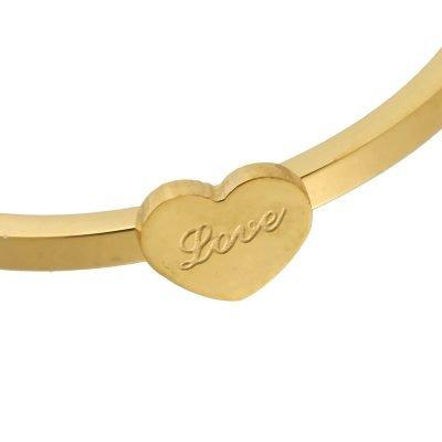 Ring love heart gouden simpele ring met love teken musthave sieraden accessoires online kopen deschoenenkast yehwang detail