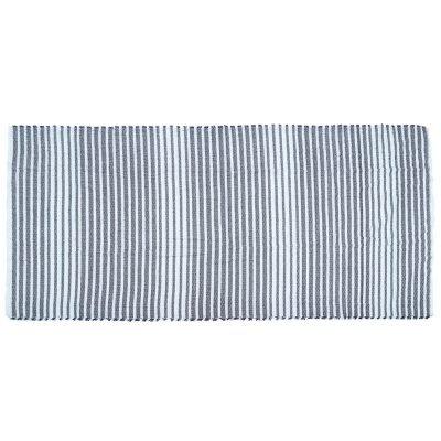 Sjaal Siberia blauw blauwe gestreepte sjaals omslagdoeken winter mooie hippe sjaals online kopen bestellen detail
