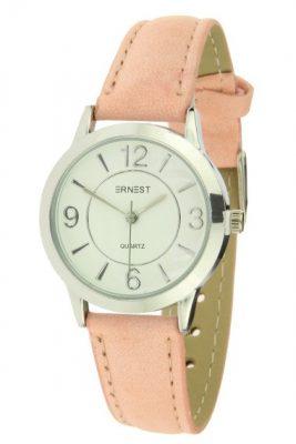 Horloge Cortiga pastel baby roze pink band zilver zilveren kast musthave horloges onlne kopen bestellen ernest horloges