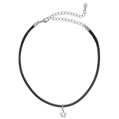 choker-little-star-zwart-zwarte-zilveren-ster-chokers-online-musthave-kettingen-dames-chique-accessoires-feest-dagen