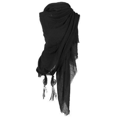 sjaal-boho-dreamcatcher-zwart-zwarte-grijze-katoenen-sjaal-omslagdoeken-met-dreamcatcher-bohemian-musthave-ibiza-online