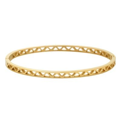 Armband Open Triangles goud gouden rvs armband dames sieraden bracelet musthave accessoires online