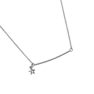 ketting-bar-star-zilver-zilveren-gold-plated-kleine-fijne-dames-fashion-kettingen-sieraden-accessoires-online-kopen