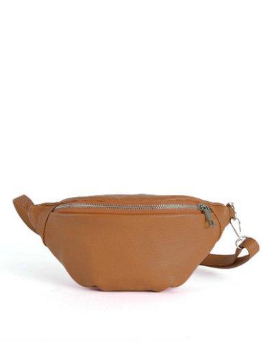 Leren Heuptas Simple bruin bruine fannypack beltbag riemtassen leder leer heuptassen kopen fashion - kopie
