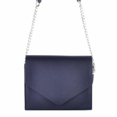 Schoudertas-Fancy blauw blauwe-kleine-dames-tasjes-tassen-fashion-bags-kopen-goedkoop-ketting hengsel