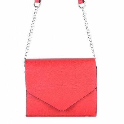 Schoudertas-Fancy rood rode -kleine-dames-tasjes-tassen-fashion-bags-kopen-goedkoop-ketting hengsel