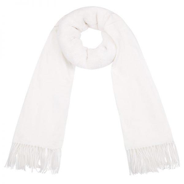 Sjaal Soft Bont wit witte zachte warme dames sjaal wollen deel kopen winter