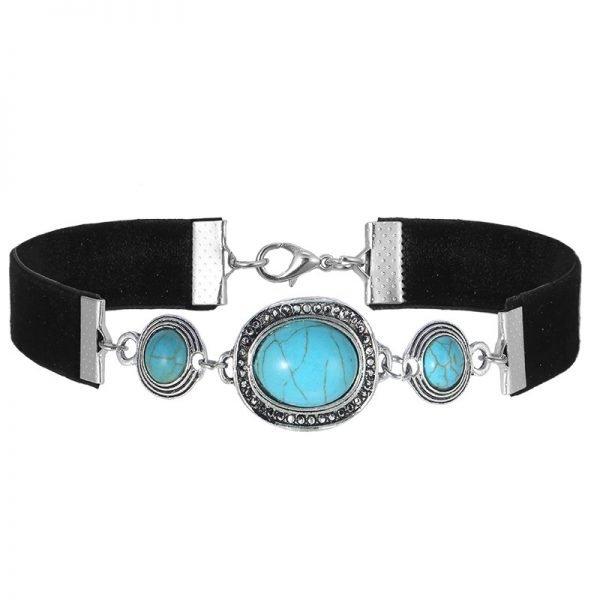 zwarte-choker-duke-turquoise-stenen-velvet-chokers-kettingen-sieraden-fashion-online-bestellen