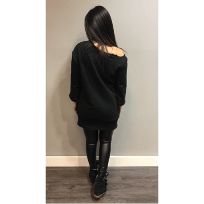zwarte-sweater-kylie-zwart-lange-trui-scheuren-musthave-dames-sweaters-dresses-online-bestellen-achterkant