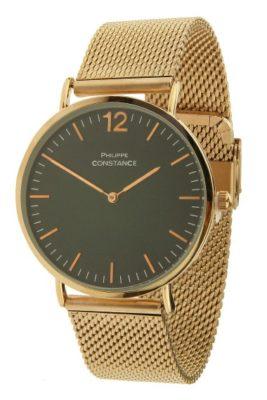 horloge-philippe-wow-rose-gouden-horlogeband-zwarte-kast-musthave-horloges-online-kopen-bestellen-philippe-constance-rvs-horloges-armbanden