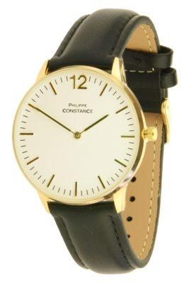 horloge-philippe-constance-zwart-zwarte-leren-horlogeband-goud-witte-kast-musthave-horloges-onlne-kopen-bestellen-ernest-horloges-267x400