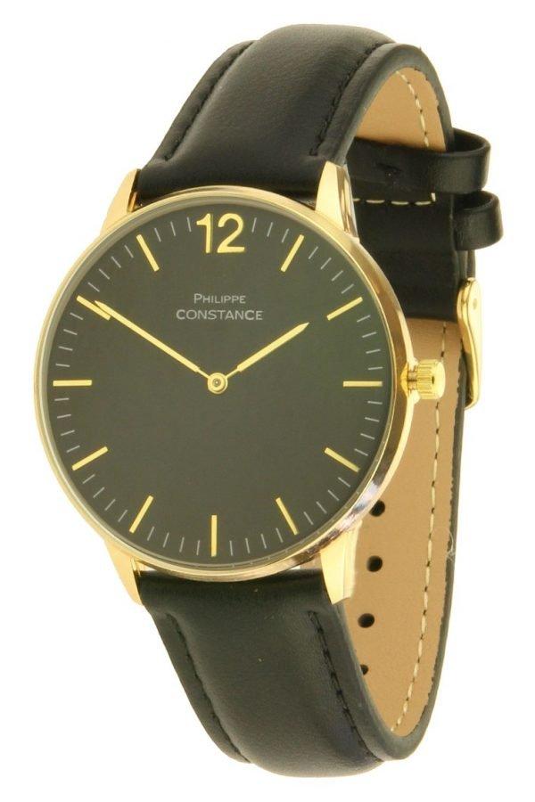 horloge-philippe-constance-zwart-zwarte-leren-horlogeband-goud-zwarte-horlogekast-musthave-horloges-onlne-kopen-bestellen-ernest-horloges-267x400