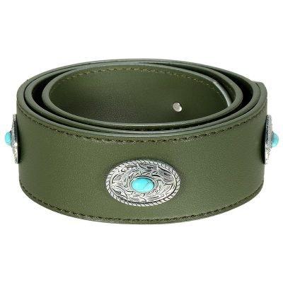 Losse Tassen hengsel Boho groen groene zilveren turquoise accesoires losse verstelbare tassen hegsel dames accesoires