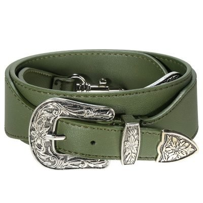 Losse Tassen hengsel Cowboy groen groene zilveren accesoires losse verstelbare tassen hegsel dames accesoires