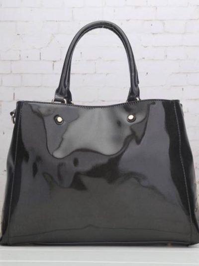tas-lak-bordeaux-zwart-zwarte-glans-tassen-online-bestellen-giulliano-goedkope-tassen-online-kopen
