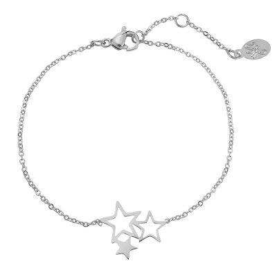 armband-3-stars-rvs-zilver-zilveren-roestvrij-stalen-armbanden-sieraden-dames-sterren-kopen