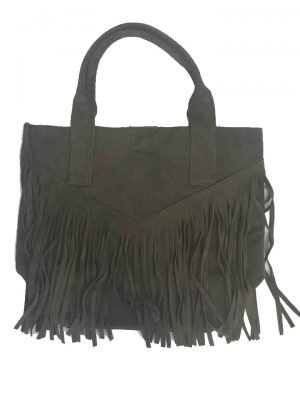 Suede-tas-Fringe-Me groen groene -suede- leren tassen met franjes fringe leather bags musthave-tas-shopper-fashion-bags-franjes online tassen kopen voor