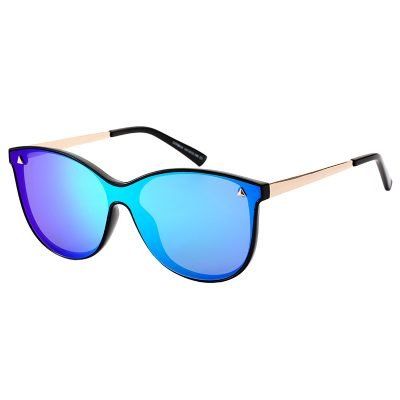 Zonnebril Spaced groen groene turquoise zonnebrillen kat eyes designer look a like dior gespiegelde reflective brillen dames