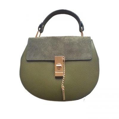 Leren-tas-Chloé-groen-groene-leger-army-musthave-saddle-bag-leer-suede-musthave-tassen-online-kopen-goedkoop-luxe-it-bags-450x600