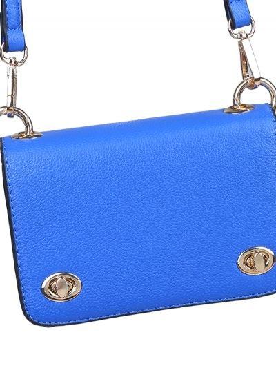 Tasje Fashion Statement kobalt blauw blauwe dames schoudertassen festival tassen musthave tassen online detailes