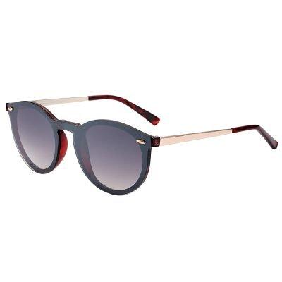Zonnebril To Cool zwart zwarte zonnebrillen clubmaster ray ban designer look a like gespiegelde reflective zilveren pootjes brillen dames