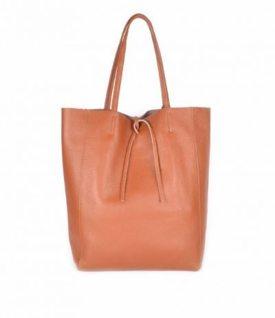 Leren-Shopper-Simple-camel cognac bruin-ruime-dames-shopper-zacht-leer-online-luxe-dames-tassen-italie-bestellen-557x600