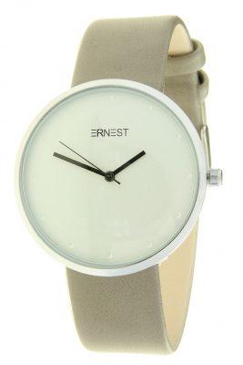 Horloge salvia taupe ernest dames horloges zilveren kast accessoires fashion horloges online