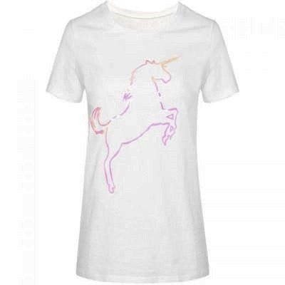 T-shirt-Pink-Unicorn-wit-witte-dames-tshirt-met-plaatje-fashion-festival-truitje-tshirts-met-print-online-400x400
