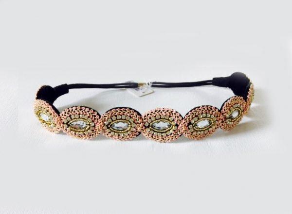 fashion-haarband-sparkle-roze goud-wit-pink-kralen-stenen-headband-haar-accessoires-hair-musthave-items-zwart-elastiek-online-bestellen fashion