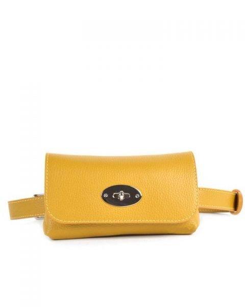 Leren Heuptas Classic geel gele beltbag-belt purse riemtas-heuptasje-met-riem-fashion-festival-musthave-look-a-like-tassen-online-giuliano-achter
