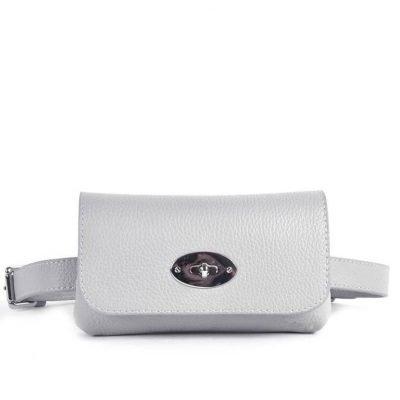 Leren Heuptas Classic grijs grijze beltbag-belt purse riemtas-heuptasje-met-riem-fashion-festival-musthave-look-a-like-tassen-online-giuliano-achter