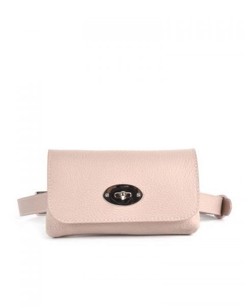 Leren Heuptas Classic roze pink beltbag-belt purse riemtas-heuptasje-met-riem-fashion-festival-musthave-look-a-like-tassen-online-giuliano-achter