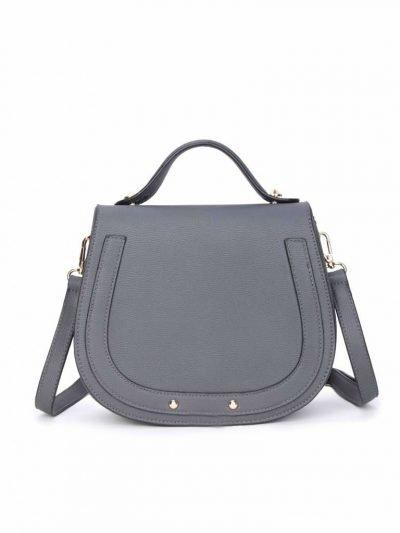 Tas Minnie grijs grijze dames schoudertassen handtas klein damestassen dames tas tassen itbags musthaves fashion kopen online