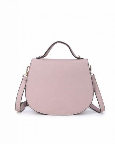 Tas Minnie roze pink dames schoudertassen handtas klein damestassen dames tas tassen itbags musthaves fashion kopen online achterkant