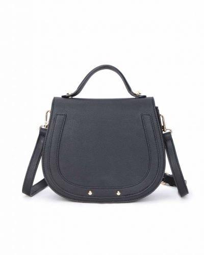 Tas Minnie zwart zwarte dames schoudertassen handtas klein damestassen dames tas tassen itbags musthaves fashion kopen online