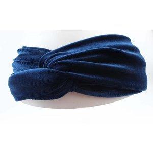 Kobalt Blauwe Accessoires.Velvet Velours Haarbanden Dames Haar Accessoires Musthave