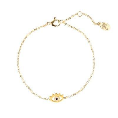 Armband Stylish Eye goud gouden dunne armband met oog bedel Bracelet sieraden fashion musthave items