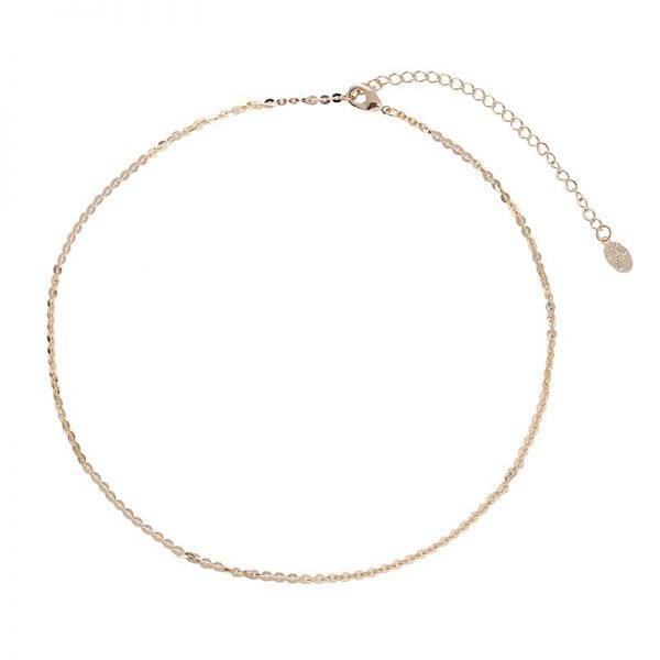 Choker ketting thing line goud gouden korte dames kettingen chokers musthave fashion items short necklages